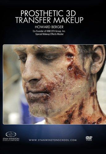 Zombie Makeup: 3D Prosthetic Transfer Application]()