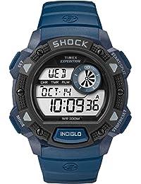 Timex Men's TW4B07400GP Expedition Cat Shock Blue Dial Wrist Watch