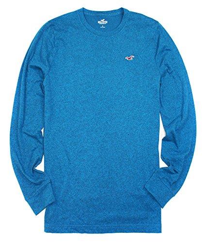 hollister-mens-iconic-crew-tee-long-sleeve-shirt-ho25-x-large-232-turquoise