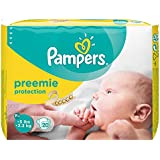 Pampers Preemie Protection Diapers for Newborn and Premature Babies (Multicolour, 20)