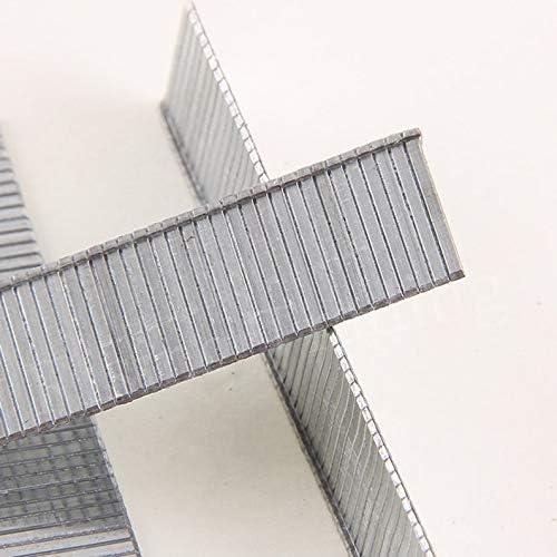 deYukiko 1000 St/ücke F10 Heftklammern 10mm L/änge Rostfrei N/ägel F/ür Elektrische N/ägel Tacker