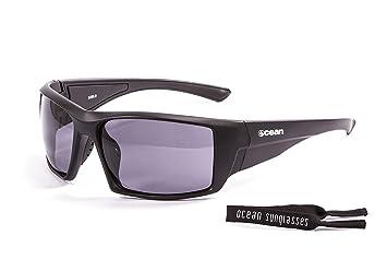 Ocean Sunglasses Aruba - lunettes de soleil polarisées - Monture : Blanc Laqué - Verres : Fumée (3200.2) M2cbbXAb