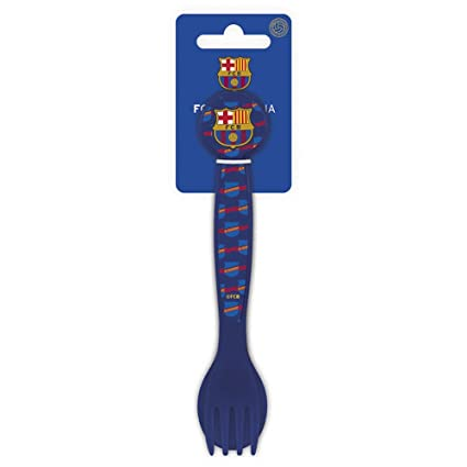 FCB FC Barcelona Set De 2 Cubiertos Plastico Polipropileno, Color (STOR ST-01817