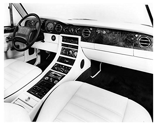 1991 Bentley Turbo R Interior Automobile Photo Poster