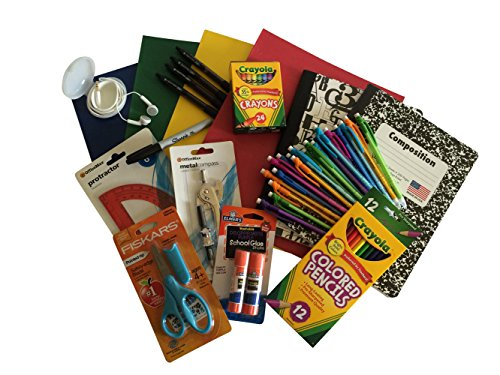 School Supply Bundle - Middle School - Crayola Sharpie Fiskar