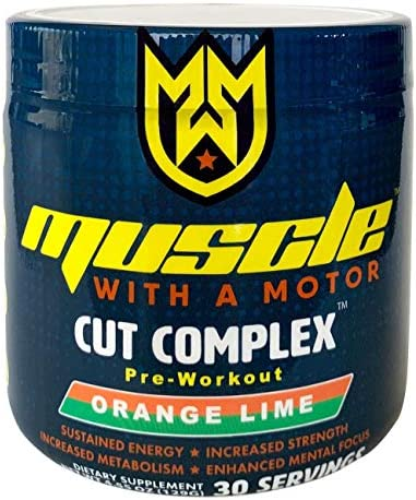 Cut Complex Pre-Workout Fat Burner Thermogenic