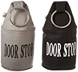 Esschert Design Fabric Door Stop with Ring, Set of 2