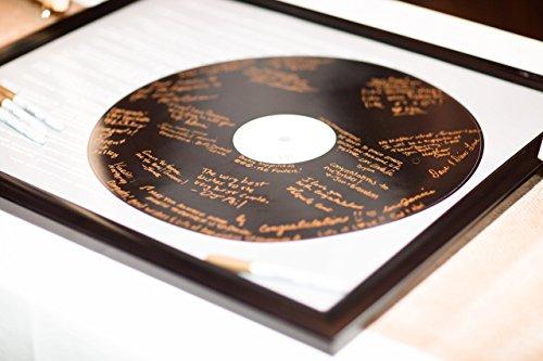 Record Wedding Song Guest Book Alternative - First Dance Lyr