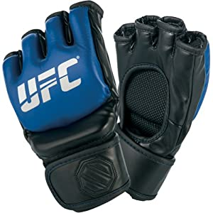 UFC Official MMA Sparring Gloves - Blue/Black