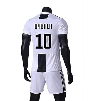 Amazon.com: ZAIYI - Camiseta de fútbol Paulo Dybala-10 para ...