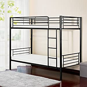 Merax Twin-Over-Twin Metal Bunk Bed