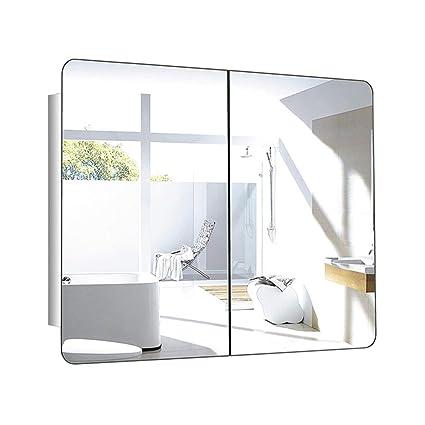 Armarios con espejo Armario de baño de Acero Inoxidable con ...