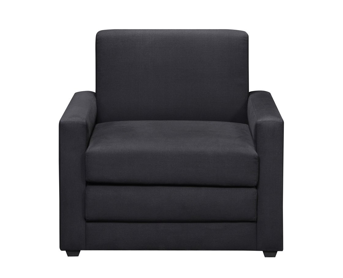 Amazon com dhp single sleeper chair kitchen dining
