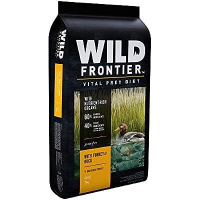 WILD FRONTIER VITAL PREY Adult Dry Dog Food with Turkey & Duck, 24 Pound Bag