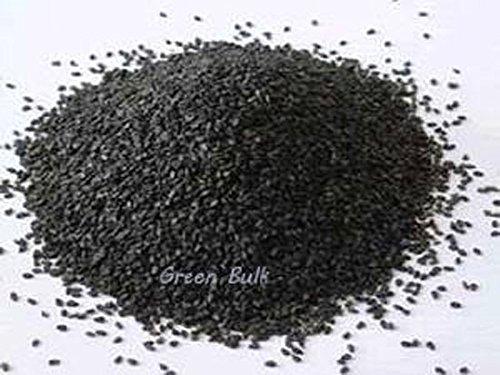 Raw Black Sesame Seeds- Hulled, 5 lb by Green Bulk