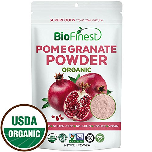 Biofinest-Pomegranate-Juice-Powder-100-Pure-Freeze-Dried-Antioxidants-Superfood-USDA-Certified-Organic-Kosher-Vegan-Raw-Non-GMO-Boost-Digestion-Skin-Care-For-Smoothie-Beverage-Blend-4-oz