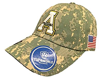 Top of the World Appalachian State Mountaineers TOW Digital Camo Flagship Adjustable Hat Cap by Top of the World