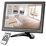 "OWSOO 10.1"" HD CCTV Security Display Monitor with HDMI/VGA/BNC/AV/USB Ports and Remote Control support HDMI 1080P/1080i Speaker U Disk PAL/NTSC Adaptive"