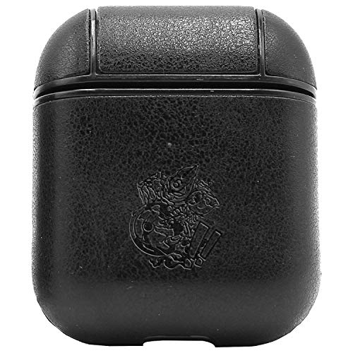 Sex Pistols 6 and 7 (Vintage Black) Engraved Air Pods Protective Leather Case Cover - a New Class of Luxury to Your AirPods - Premium PU Leather and Handmade exquisitely by Master Craftsmen (Sex Pistols Black Leather)