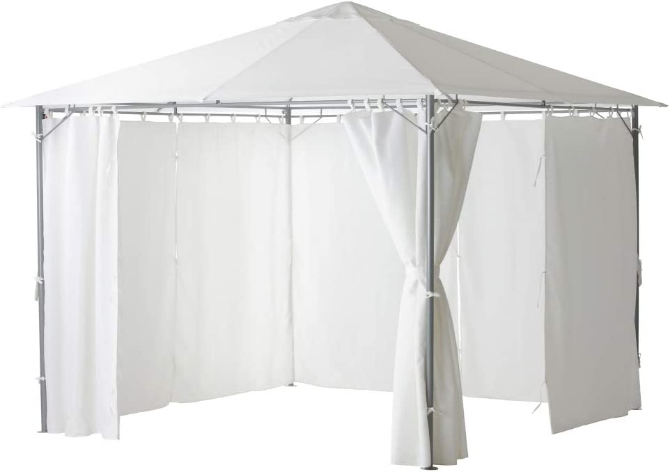 IKEA ASIA KARLSO - Toldo para cenador, Color Blanco: Amazon.es: Hogar