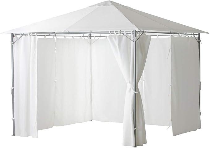 IKEA ASIA KARLSO - Toldo para cenador, Color Blanco: Amazon ...