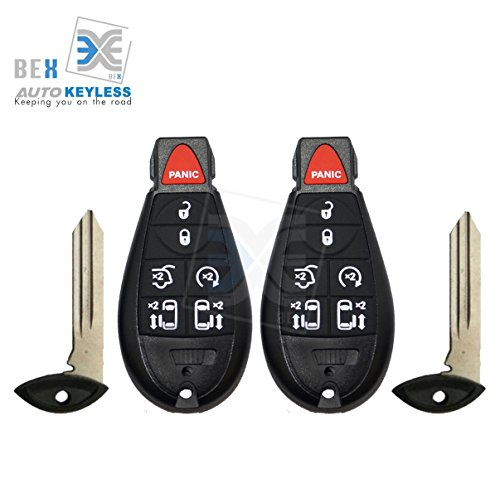 bex-2-new-replacement-key-fob-keyless-entry-remote-beeper-transmitter-for-2009-2012-volkswagen-routa