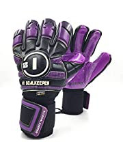 Luva Goleiro Profissional N1 Goalkeeper Horus Elite Purple