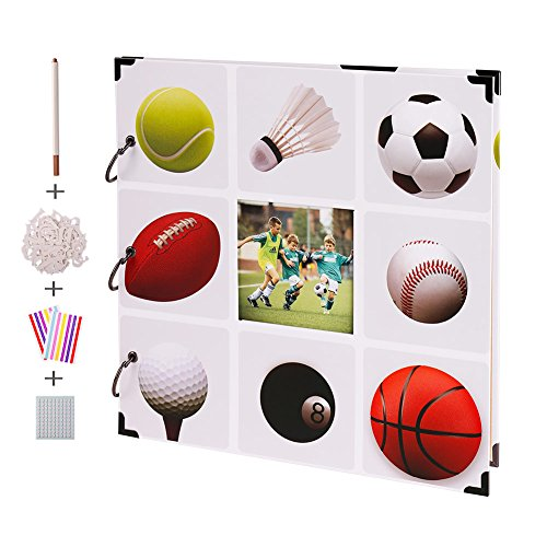 (FaCraft Sport Scrapbook Album 12x12 with Window on The Cover)