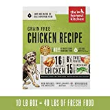 Honest Kitchen Human Grade Dehydrated Grain Free Chicken Dog Food 10...