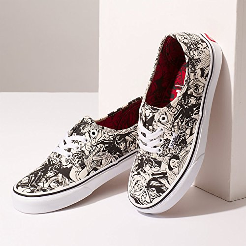 3 Authentic Vans females Marvel Multi uk Sneaker fTqSAnT