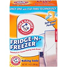Arm & Hammer Fridge-n-Freezer Baking Soda, 14 Ounce (Pack of 12)