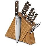 Lamson Signature 8-piece Bamboo Slim Knife Block Set