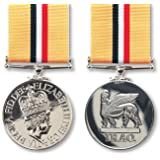 Official Op Shader Miniature Medal, Clasp and Ribbon - Iraq and