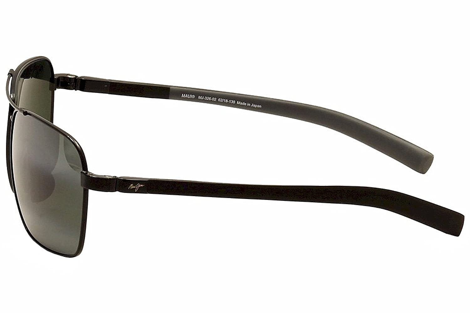 eaa5e3fba0b Amazon.com  Maui Jim Freight Trains 326-02 Polarized Rectangular Aviator  Sunglasses