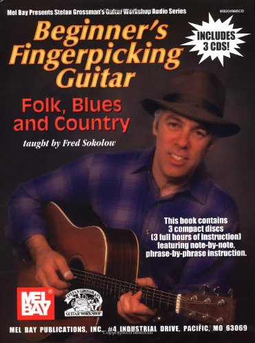 Beginner's Fingerpicking Guitar: Folk, Blues and Country (Book & CD)