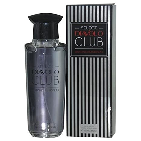 Antonio Banderas Select Diavolo Club Eau de Toilette Spray for Men, 0.55 Pound by Antonio Banderas: Amazon.es: Belleza