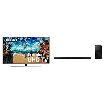 "Amazon.com  Samsung 65NU8000 FLAT 65"" 4K TV with Sound + Panoramic ... e99bef2a9dbf"