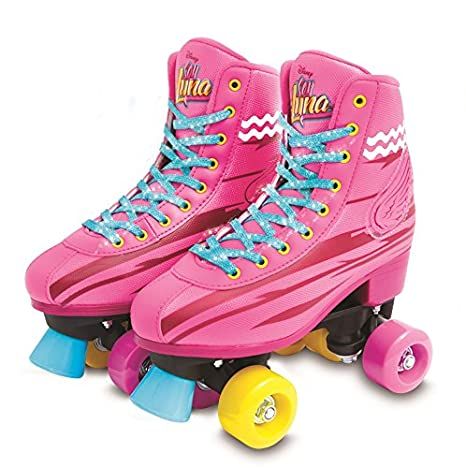 5783b04bcecad Soy Luna - Light up Patines Roller Training (34 35) (Giochi Preziosi. Haz  clic para ...