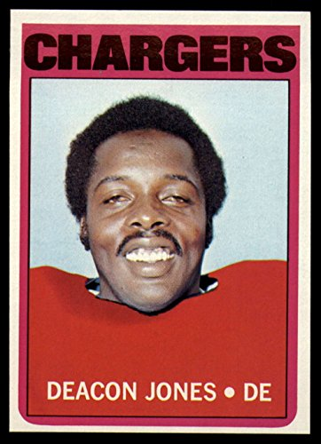 Football NFL 1972 Topps #209 Deacon Jones NM-Mint Chargers (Deacon Jones Nfl)
