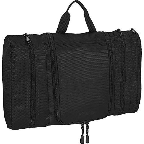 eBags Pack-it-Flat Hanging Toiletry Kit for Travel - (Black) from eBags