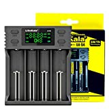4-Bay USB Smart Battery Charger Universal Battery