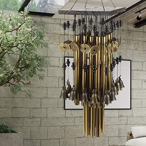 para decoraci/ón del hogar VOSAREA jard/ín Puerta Colgante de Metal con dise/ño de colibr/í y Campanilla de Viento Coche Patio Hecho a Mano