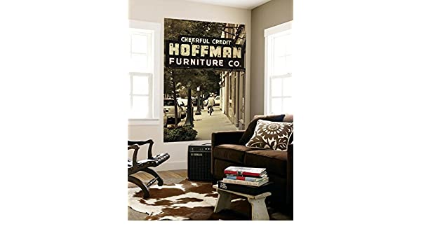 Amazon.com: USA, Alabama, Mobile, Dauphin Street, Old Neon Sign For Hoffman  Furniture Wall Mural By Walter Bibikow 48 X 72in: Kitchen U0026 Dining