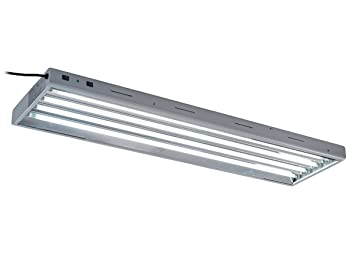 Oppolite T5 4FT 4 Lamp Fluorescent Grow Light Ho Bulbs 6500K For Indoor  Horticulture Gardening