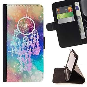 King Case - FOR LG G3 - All things are difficult - Prima caja de la PU billetera de cuero con ranuras para tarjetas, efectivo Compartimiento desmontable y correa para la mu?eca