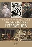 capa de Estilos de Época na Literatura