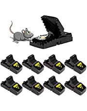 Mouse Trap, Mice Traps That Work Humane Small Mouse Snap Trap Power Rodent Killer Mouse Catcher - 8 Pack