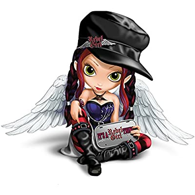 Figurine: Jasmine Becket-Griffith It's A Rebel Girl Thing Figurine by The Bradford Exchange
