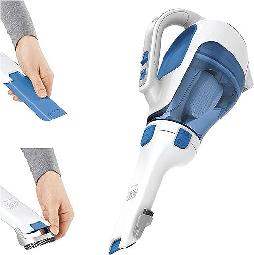 BLACK+DECKER dusbuster Handheld Vacuum, Cordless, Magic Blue (HHVI320JR02)