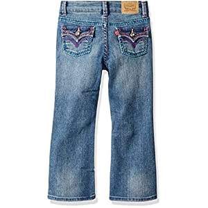 Levi's Girls' 715 Thick Stitch Bootcut Jean
